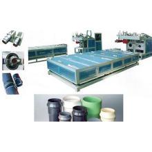 Máquina de Fusão de Plástico PVC / Máquina de Alargamento Plástico