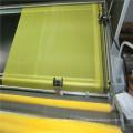 Tela de malha branca da impressão de tela de seda do poliéster
