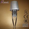 Antique Hotel Decorative Horn Shape Aluminium Shade Wall Lamp