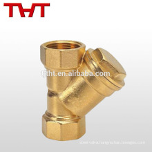 y type strainer brass forged strainer Good Quality