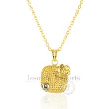 Grossiste fournisseur de pyrite 925 collier en argent sterling
