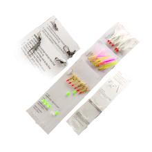 SBL003 sabiki rigs fish skin crystal flash feather