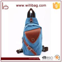 Multifunctional Canvas Outdoor Travel Chest Bag For Men Sling Bag
