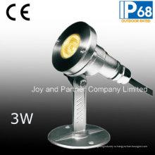 Подводный прожектор СИД нержавеющей стали 3W (JP95312)