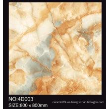 Azulejo esmaltado hermoso de la alfombra de la porcelana 3D de la alta calidad 60X60