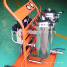 Filtre à huile véhicule série LYC-B chariot de filtration de haute précision Chariots de filtration d'huile de déshydratation par coalescence