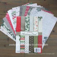 Christmas Carol A4 Paper Pad Coleções de Natal Scrapbook Paper Pack