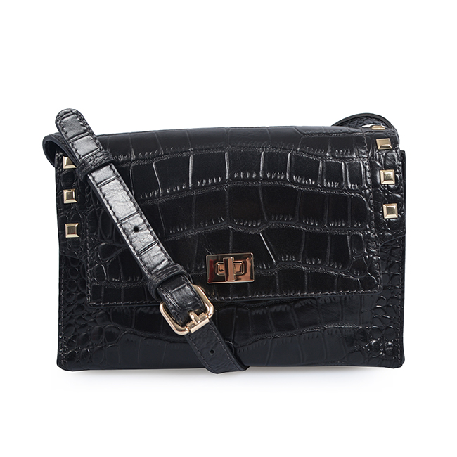 Handbag Crocodile Leather Crossbody Bag