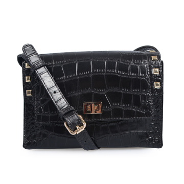 Classic 2019 New Fashion Crocodile Crossbody pequeños bolsos
