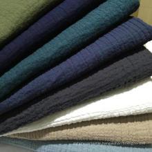 11s 55%Linen 45%Cotton Fabric, Crinkle Cotton Linen Fabric