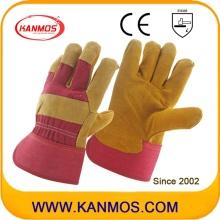 Промышленная безопасность Cow Split Leather Palm Work Gloves (110111)