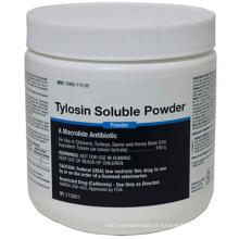 50% de tartarato de tilosina em pó solúvel para animais