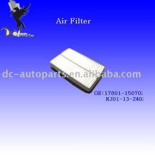 Auto Pleated Air Handling Unit Air Filter