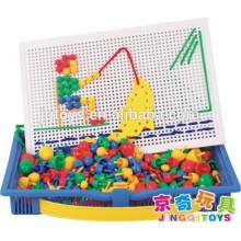 JINGQI rompecabezas de juguete Setas clavos bloque de construcción magnética para niños
