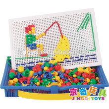 Игрушка-головоломка JINGQI Грибы гвозди магнитный строительный блок для детей