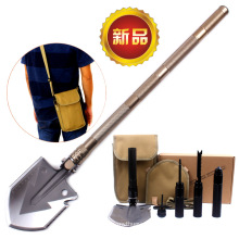 2017 New Style Chinese Professional Military Tactical Multifunction Shovel Outdoor Camping Survival Folding Spade Tool Equipment
