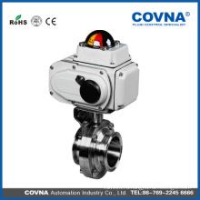 Электрический шаровой кран с электромагнитным клапаном контроля потока с сертификатом CE
