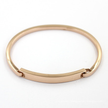 Simple Rose Gold Plated Jewelry Fashion Stainless Bracelet