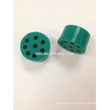 Conector pequeno do fio da borracha de silicone do OEM