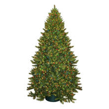Árbol de Navidad artificial con decoración de vidrio Craft Navidad luz (TU85.400.00)