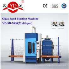 Machine automatique de sablage de verre de 1.5 / 2 / 2.5m