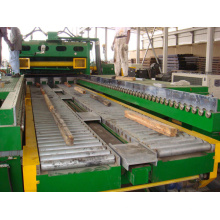 Thick STS steel Synchro cut to length line
