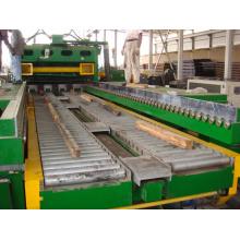 Aço STS espesso com corte sincronizado na linha de comprimento