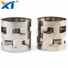 Stainless steel 316L 304 metal pall ring random packing used in supporting catalyst beds