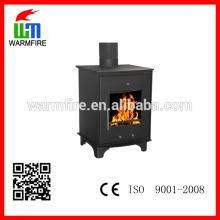 Freestanding designer fonte de madeira lareira fábrica WM208-500