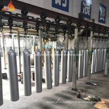 Facctory for Painting 40L CO2 Gas Cylinder