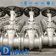Didtek OS & Y Válvula de compuerta con manivela