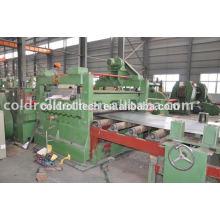 China Heißer Verkauf HR CR Stahlblech geschnitten zur Länge Maschine