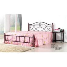 Lovely clásica pintura de acero dormitorio / casa de cama (536 #)