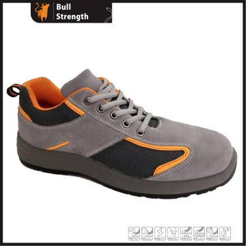 Suede Leather Safety Footwear with Steel Toe&Midsole (SN5425)