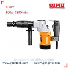 China martelo giratório 40 milímetros 900w qimo ferramentas eléctricas