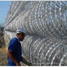 Galvanized Razor Barbed Wire Manufcture