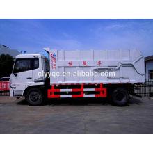 Dongfeng Tianjin basurero con capacidad de 14cbm