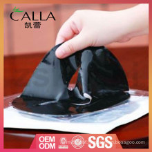 Customized black gel mask with high quality