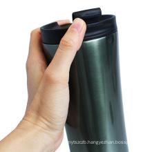 Travel stainless steel tumbler coffee mug vacuum thermos