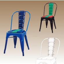 Chaise en métal bon marché de vente chaude dans la salle à manger