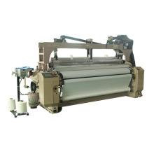 Экономичный синтетической ткани двойного луча струей воды ткацкий станок с Добби