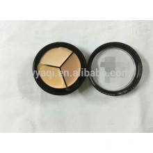 Imperméable à l'eau cosmétique 3 Palette CREME