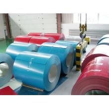 Imersão a quente espessura fina cor PPGI Prepainted bobina de aço galvanizada