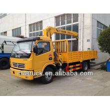 Dongfeng 6 tons cargo crane truck