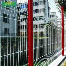 Welded Wire Mesh Panel Pagar dalam 6 Gauge
