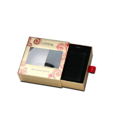 Ribbon Handle Sliding Drawer Box Dalam Kemasan Box
