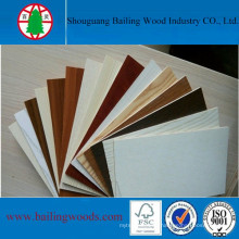 18mm Poplar Core Melamine Plywood