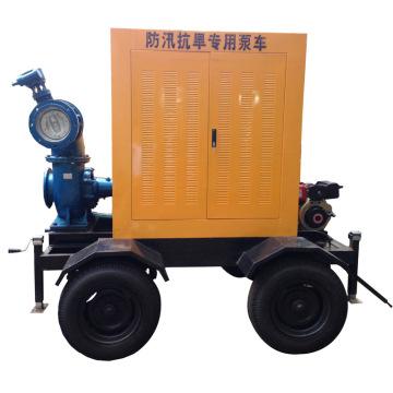 Chw Diesel Big Flow Non-Clog Entwässerungspumpe