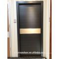 Puerta moldeada del mdf que diseña la puerta interior para la puerta del sitio de la casa o del hotel