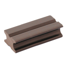 China Factory 40*25mm Wood Plastic Composite WPC Joist with Good Dimensional Stability